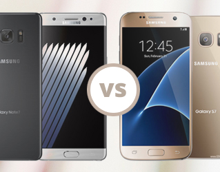 Samsung Note 7 vs Galaxy S7 Blog