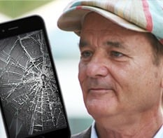 Bill Murray Broken Phone