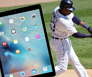 MLB iPad Pros