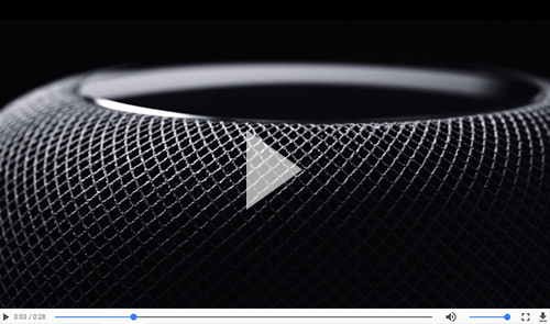 Watch the Apple Homepod Promotional Video
