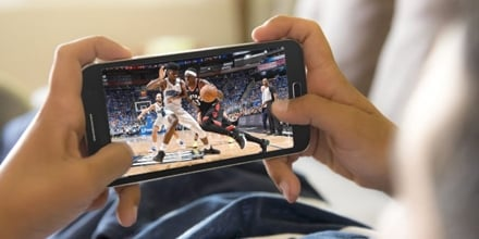 Streaming the Big Game on a Smartphone
