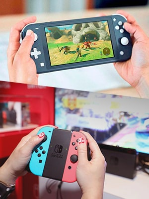 Nintendo Switch Lite Vs. Original Nintendo Switch