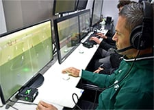 Video Assisted Referees in booth