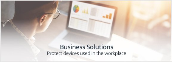 Protect devices used within your business.